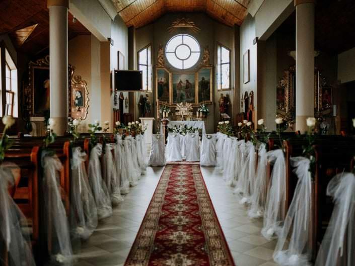 ozdoby w kościele